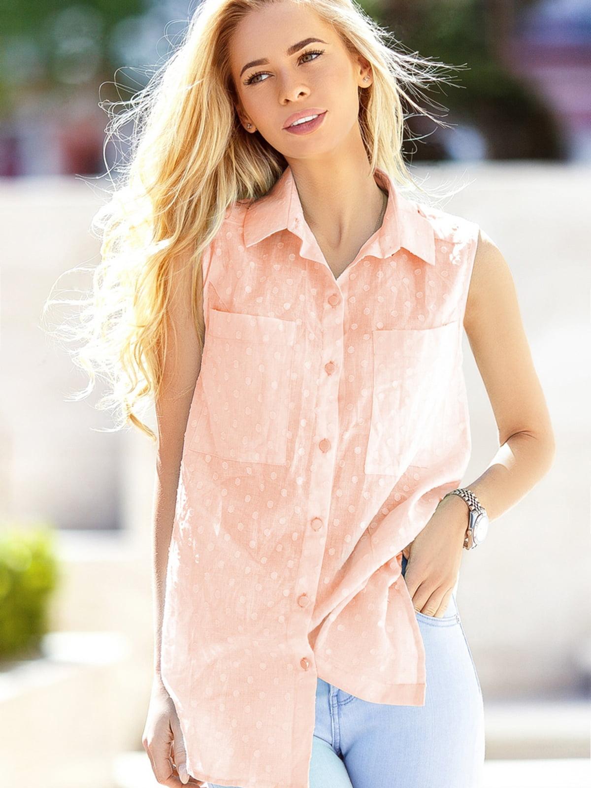 Рубашка розовая | 5139757