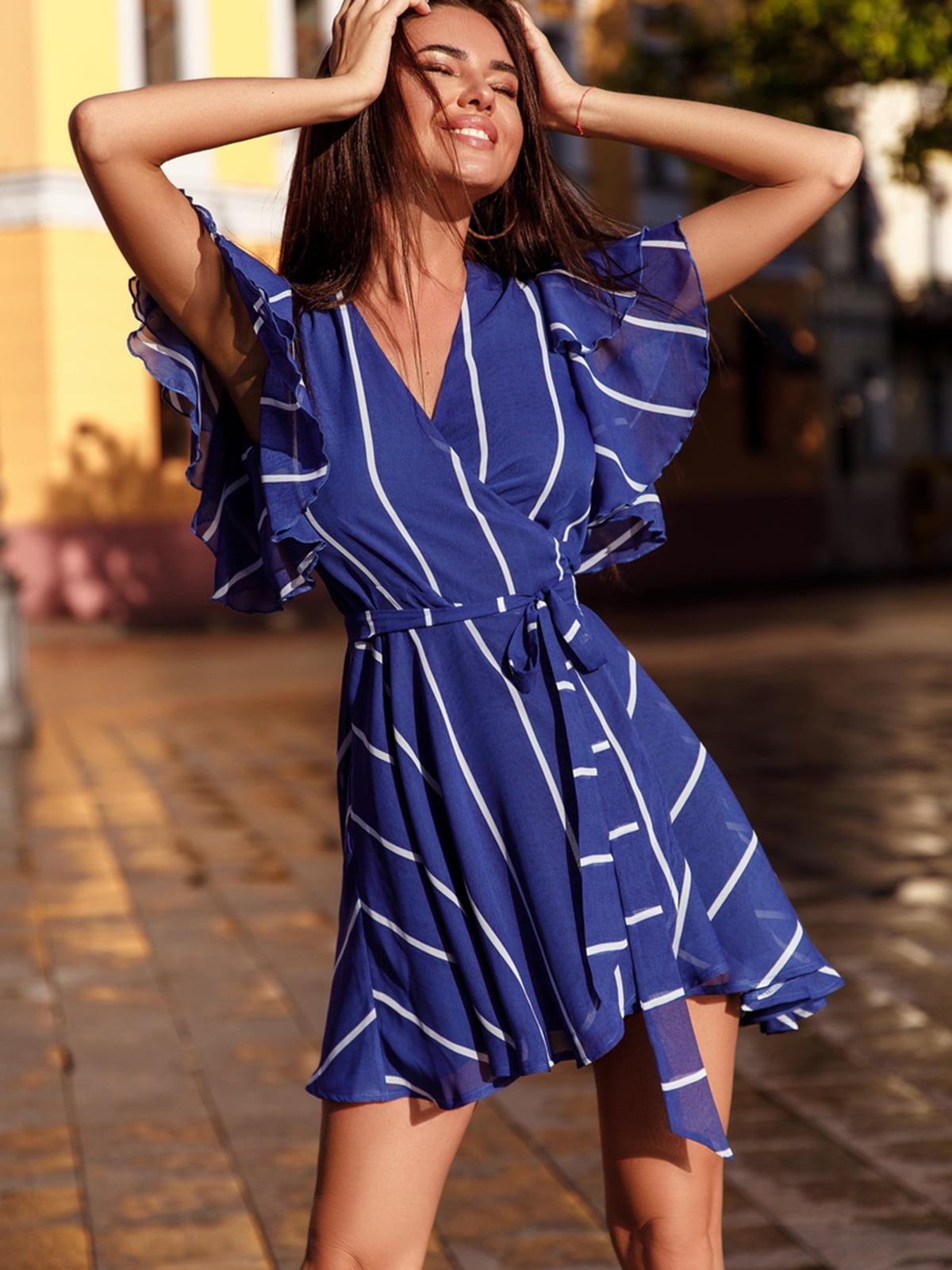 Платье синее   5142765