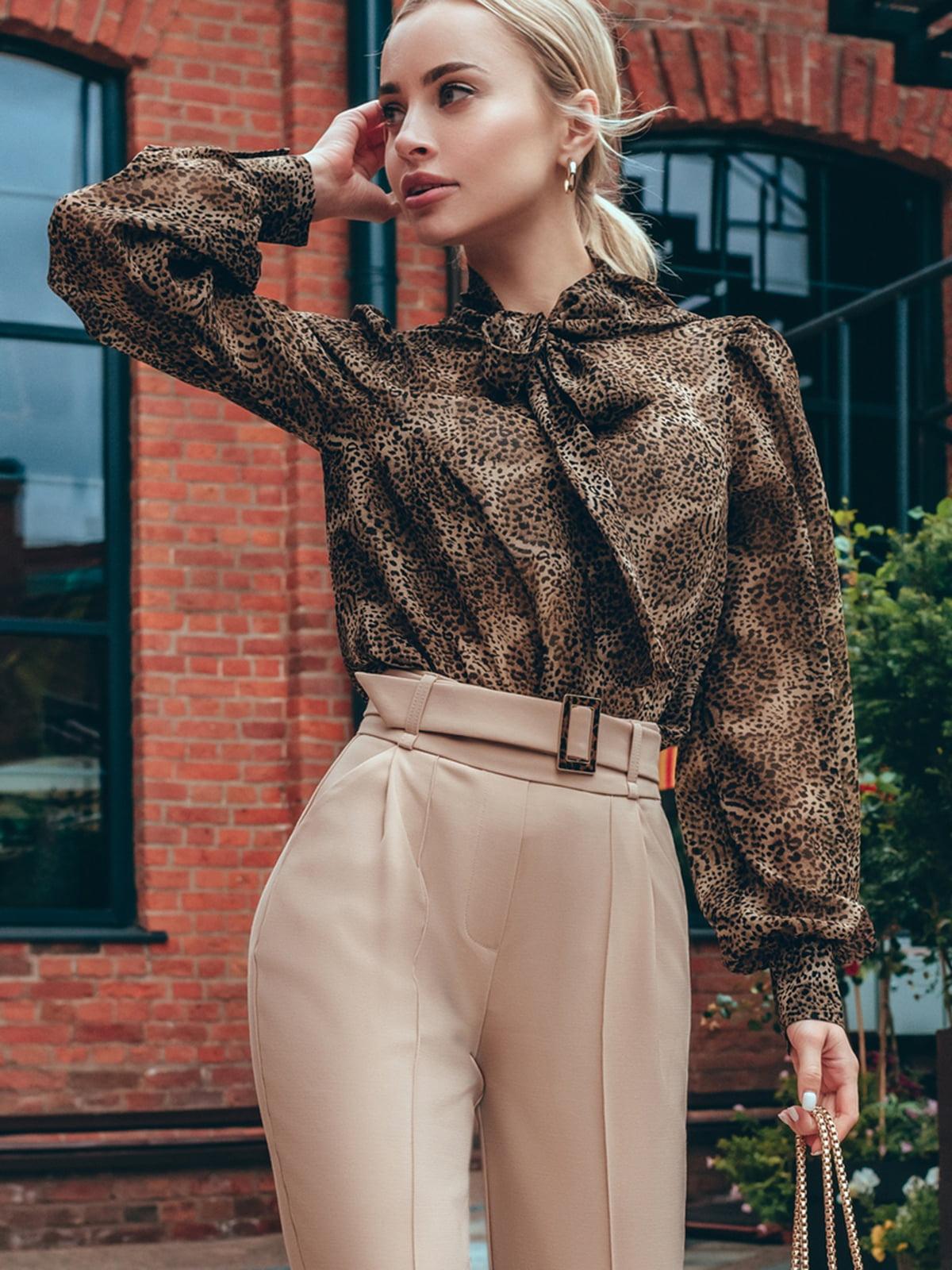 Блуза коричневая | 5258844