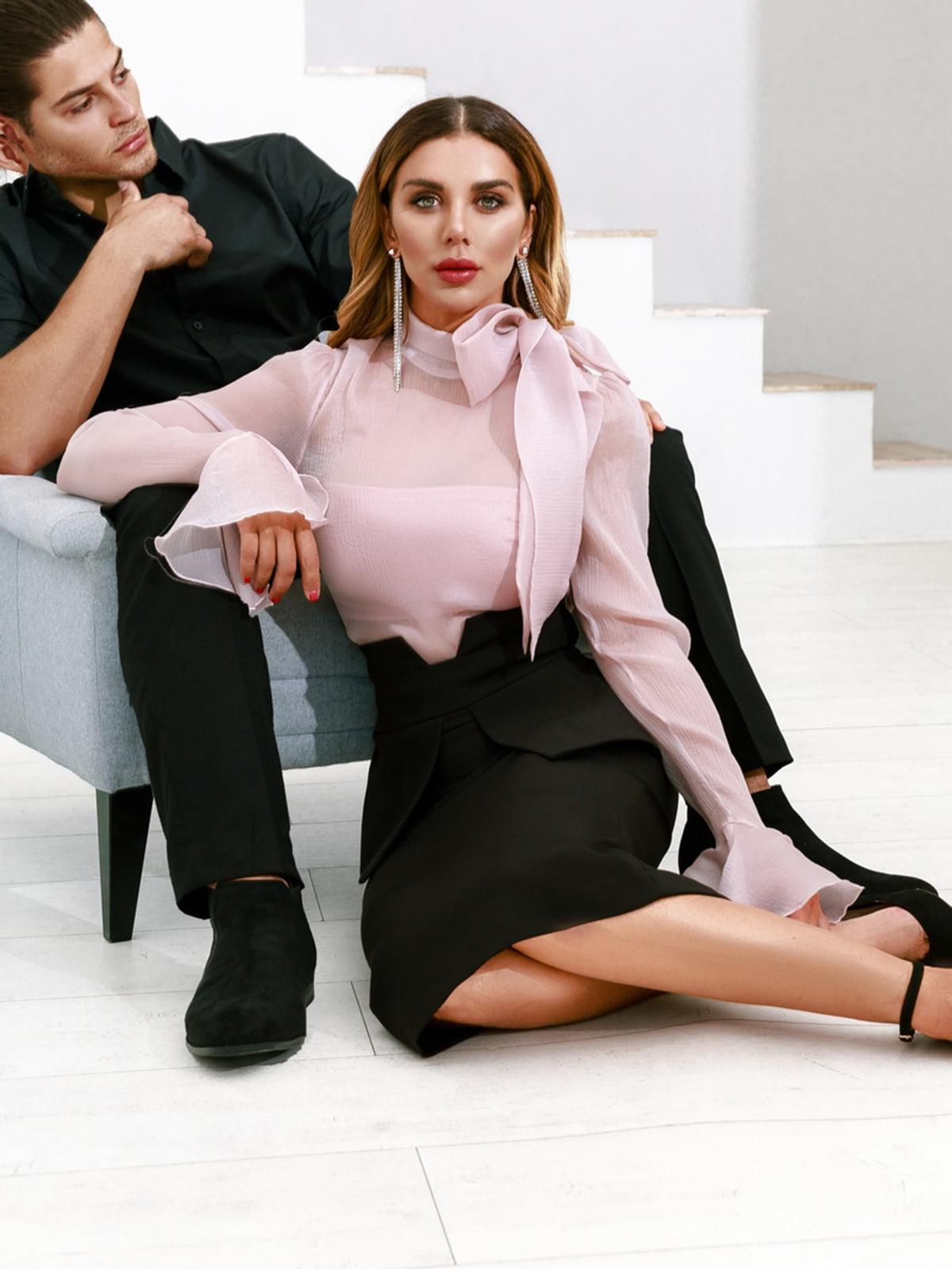 Блуза розовая | 5281778