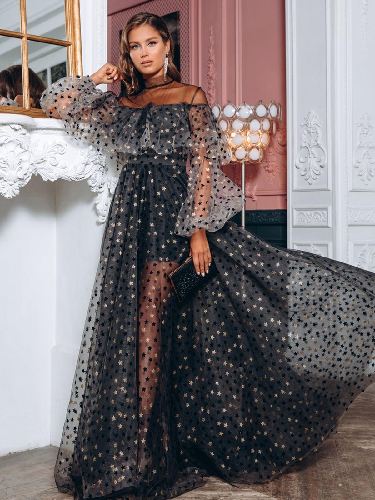Платье черное | 5291126