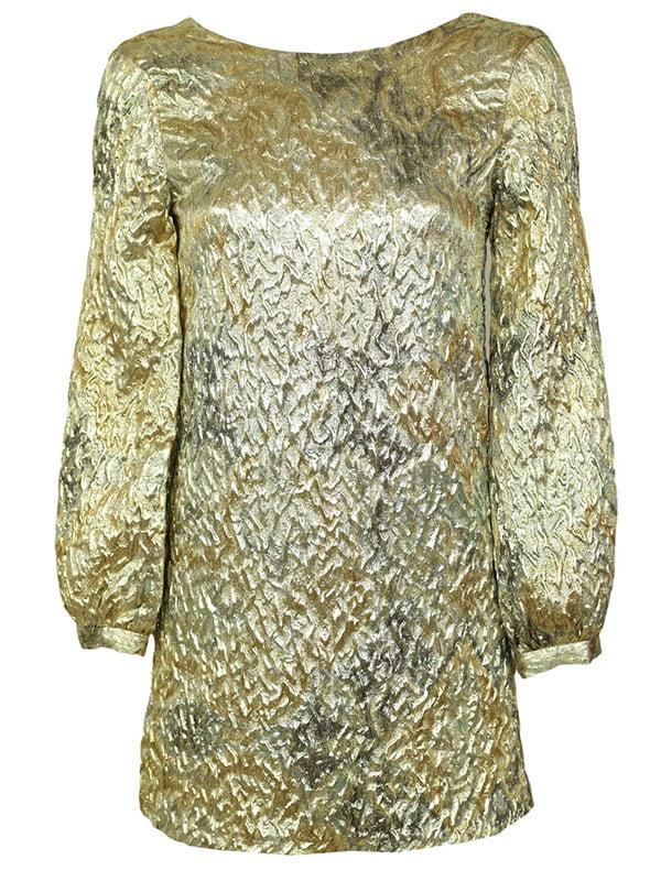 Блуза золотистого кольору з розводами | 5304456