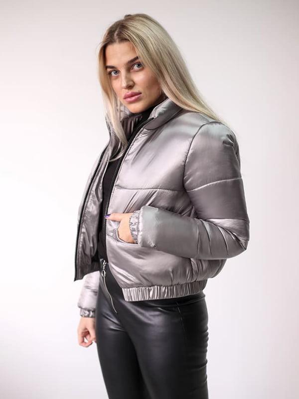 Куртка серебристая | 5305073
