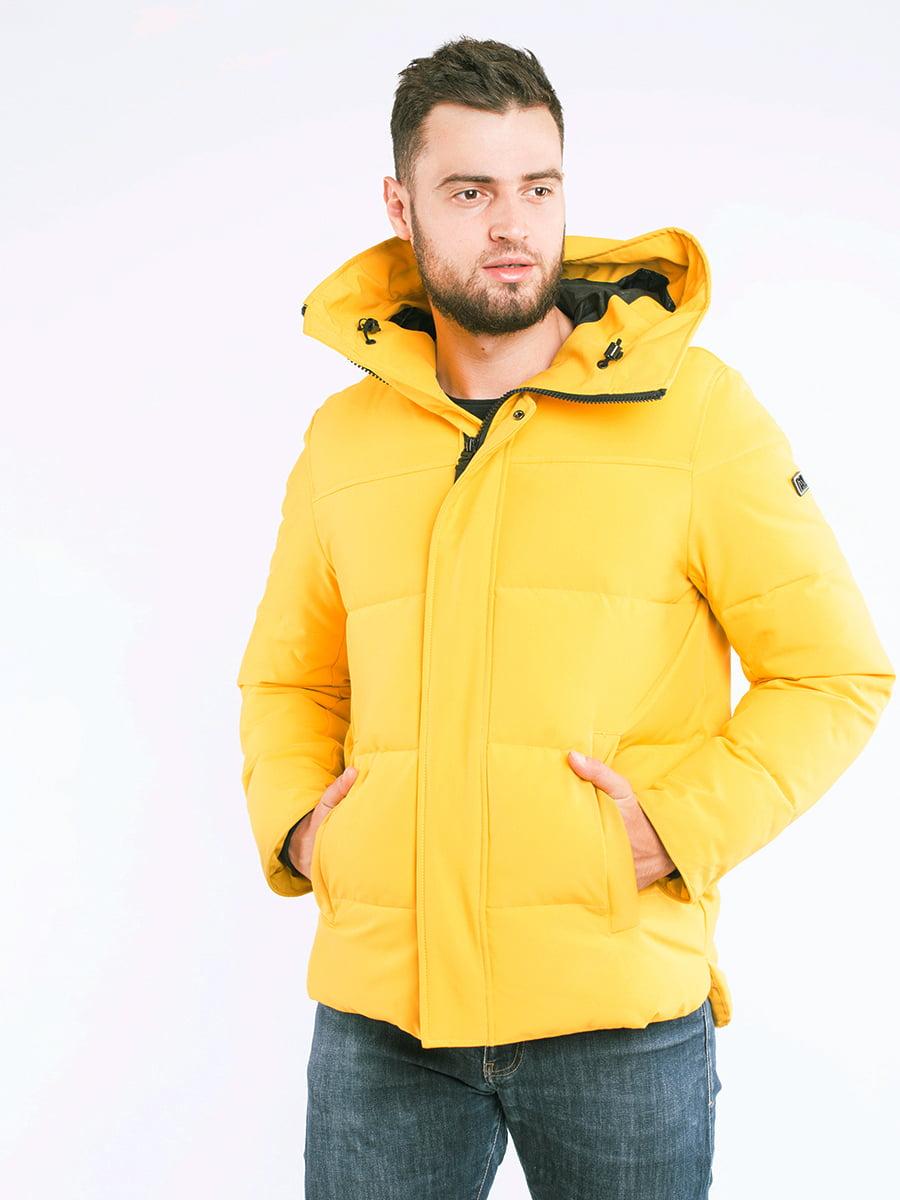 Куртка жовта | 5301852