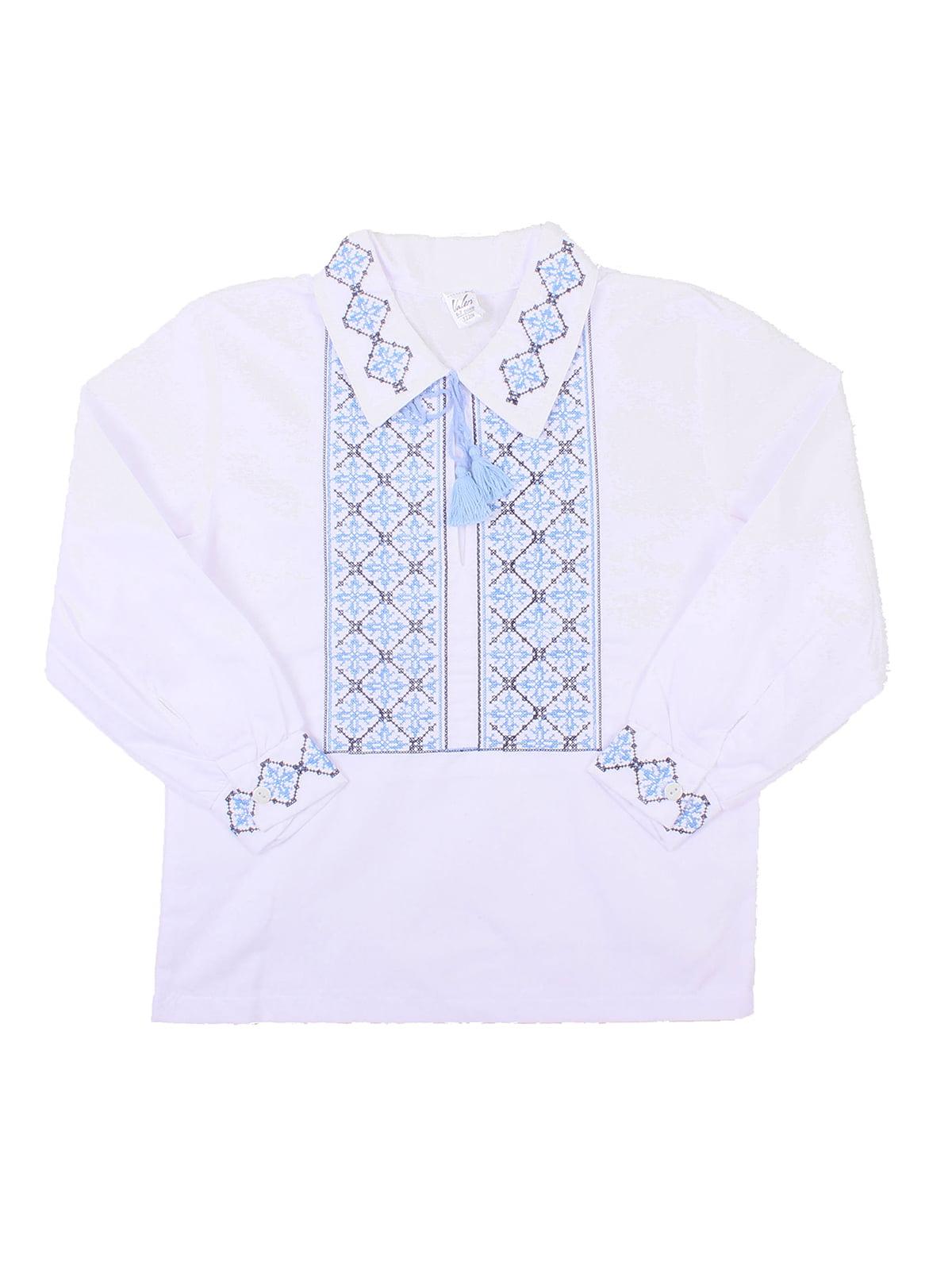 Рубашка-вышиванка белая | 5248357