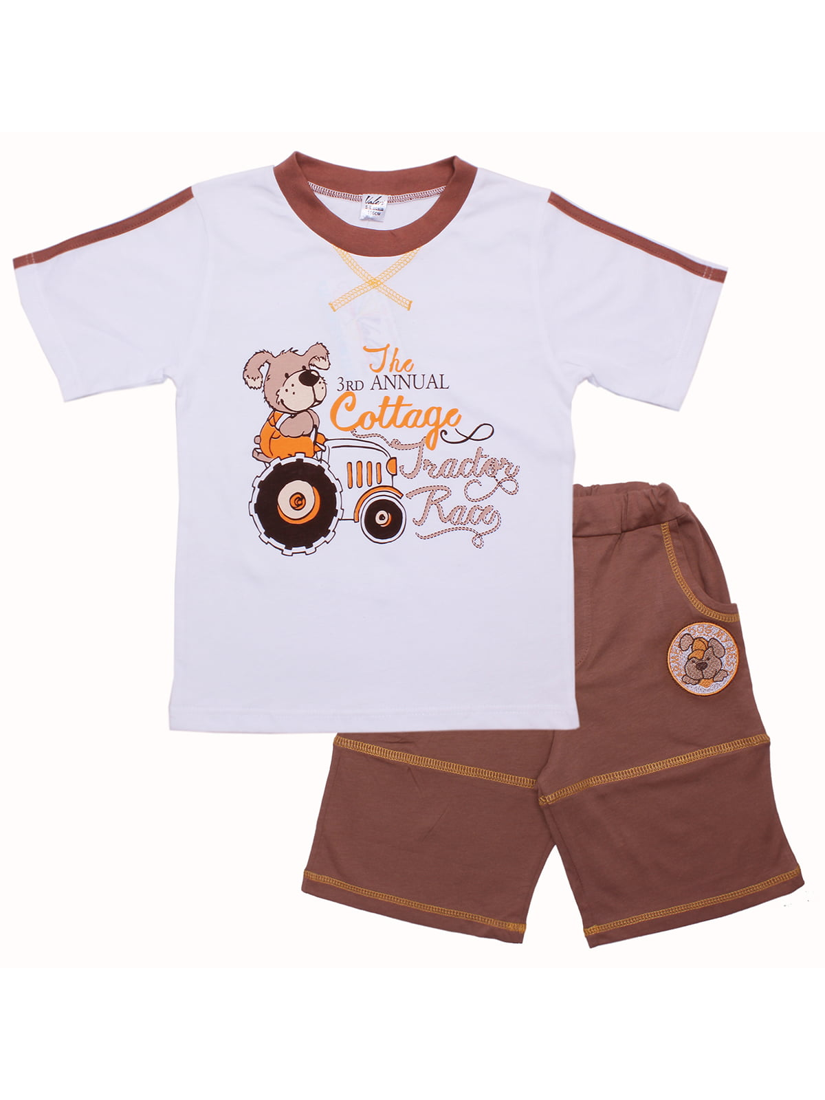 Комплект: футболка и шорты | 5282537