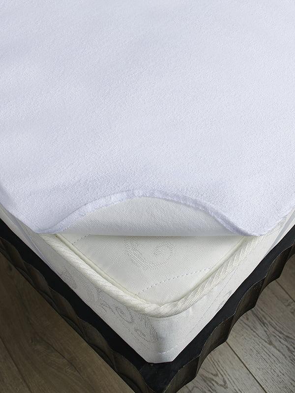 Наматрацник білий (140х190 см) | 4141710