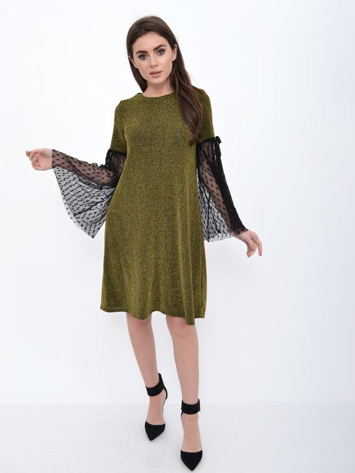 Платье золотистое | 5306234