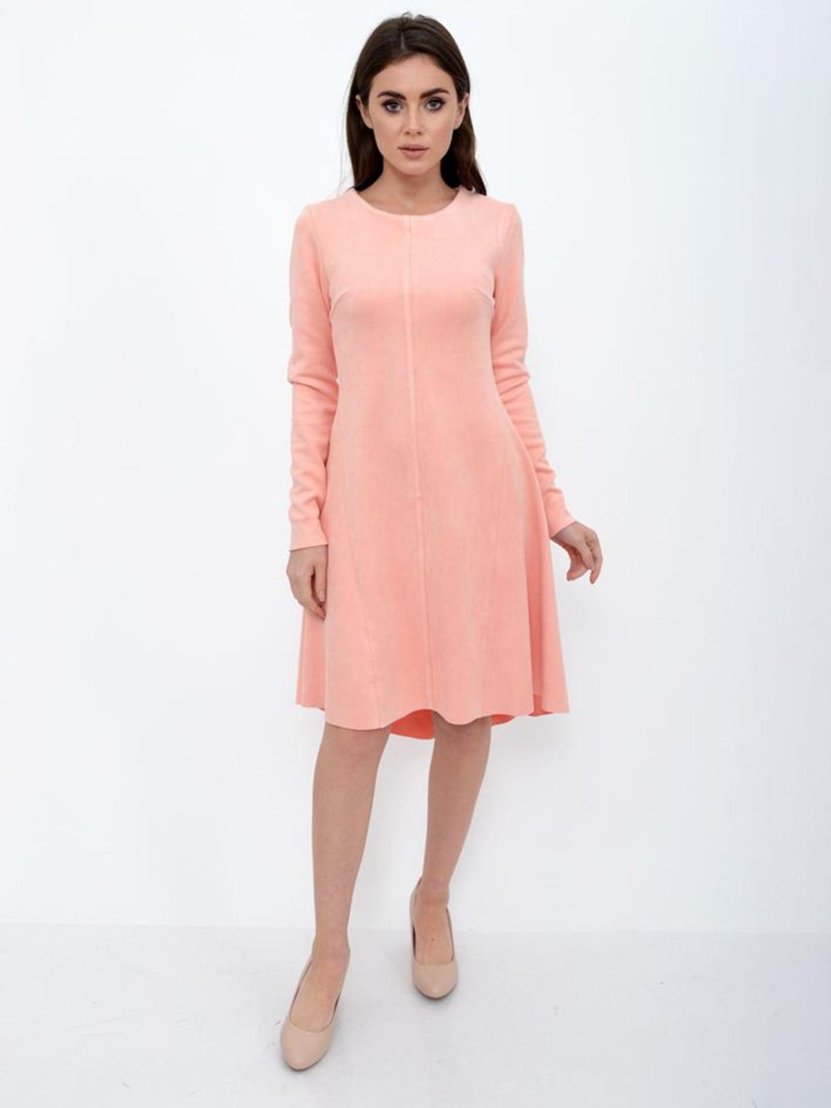 Платье персикового цвета | 5306254