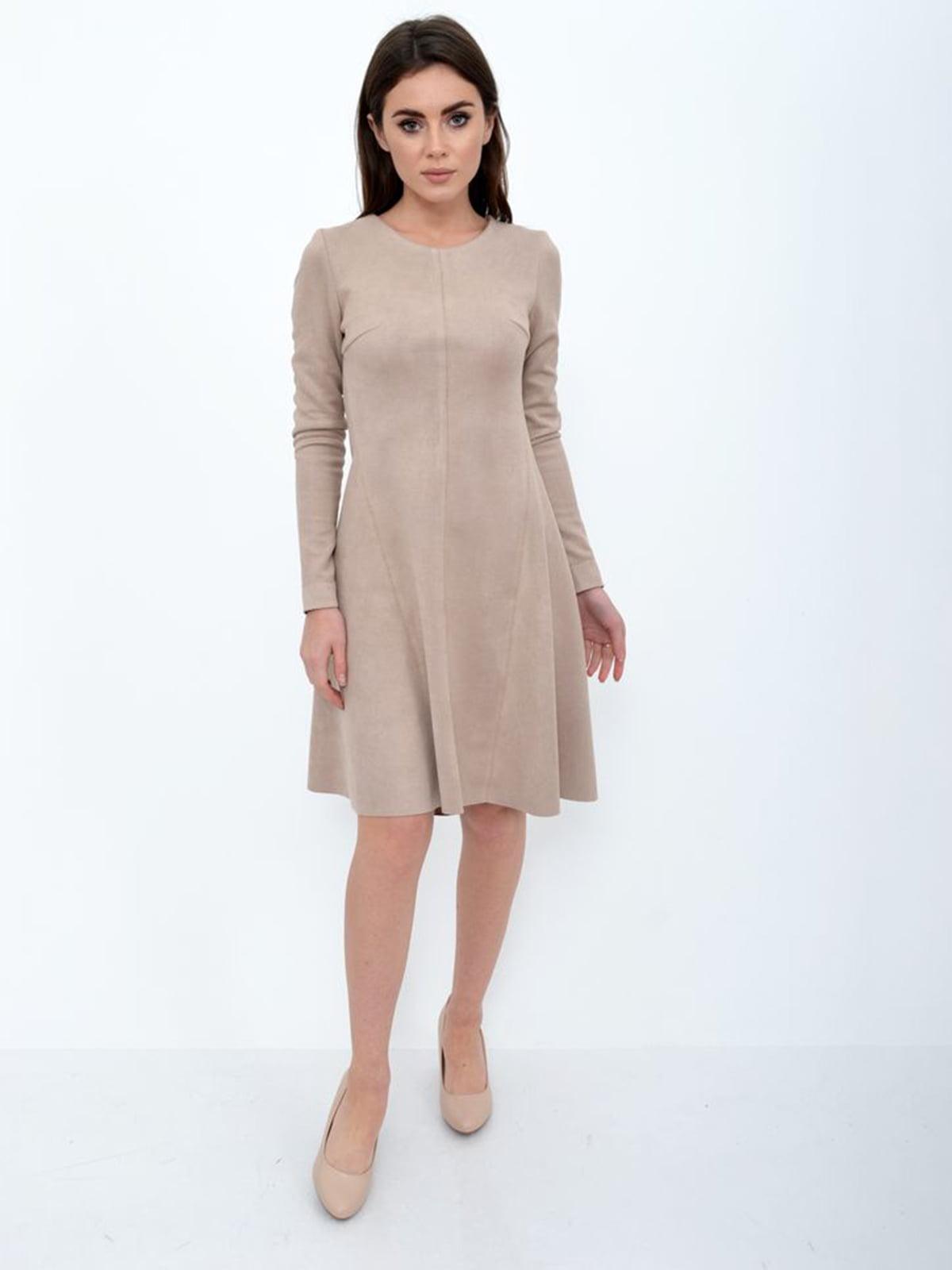 Платье бежевое | 5306255