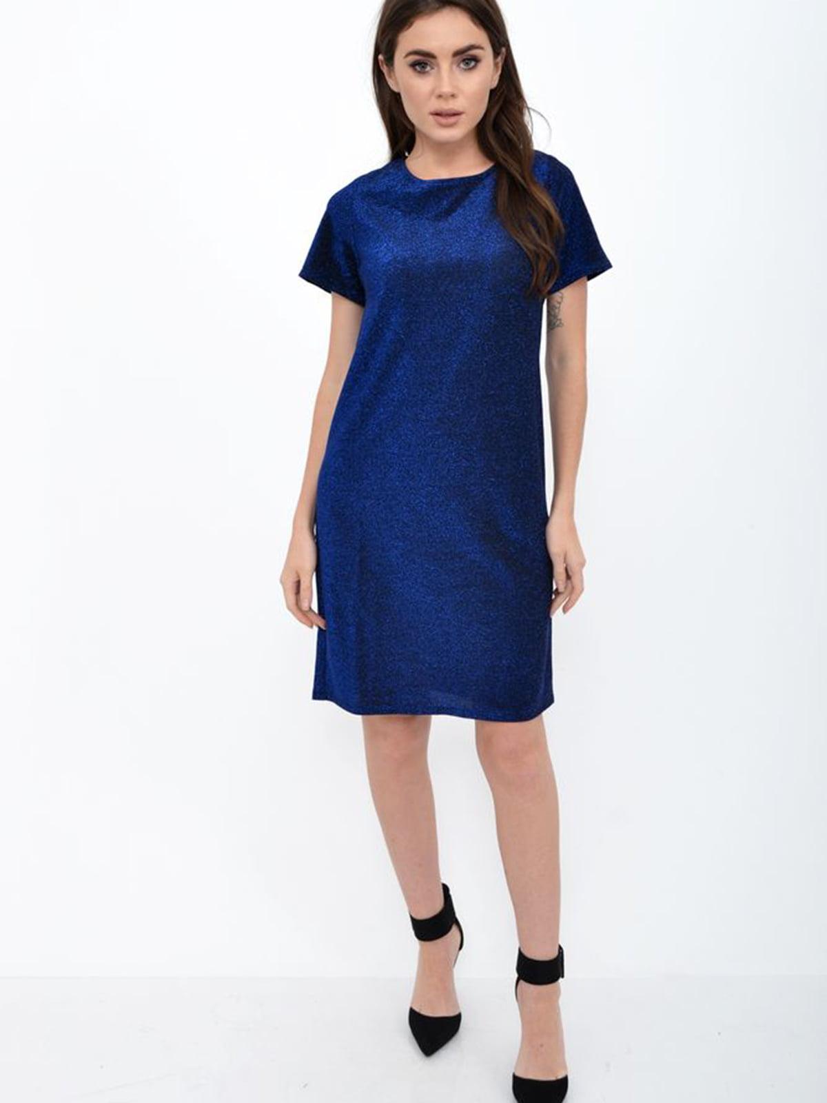 Платье синее | 5306280