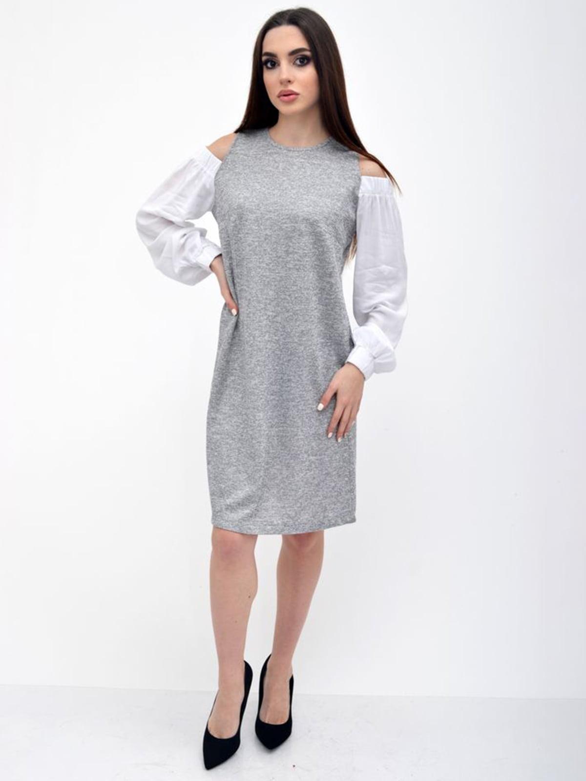 Платье серое   5306290