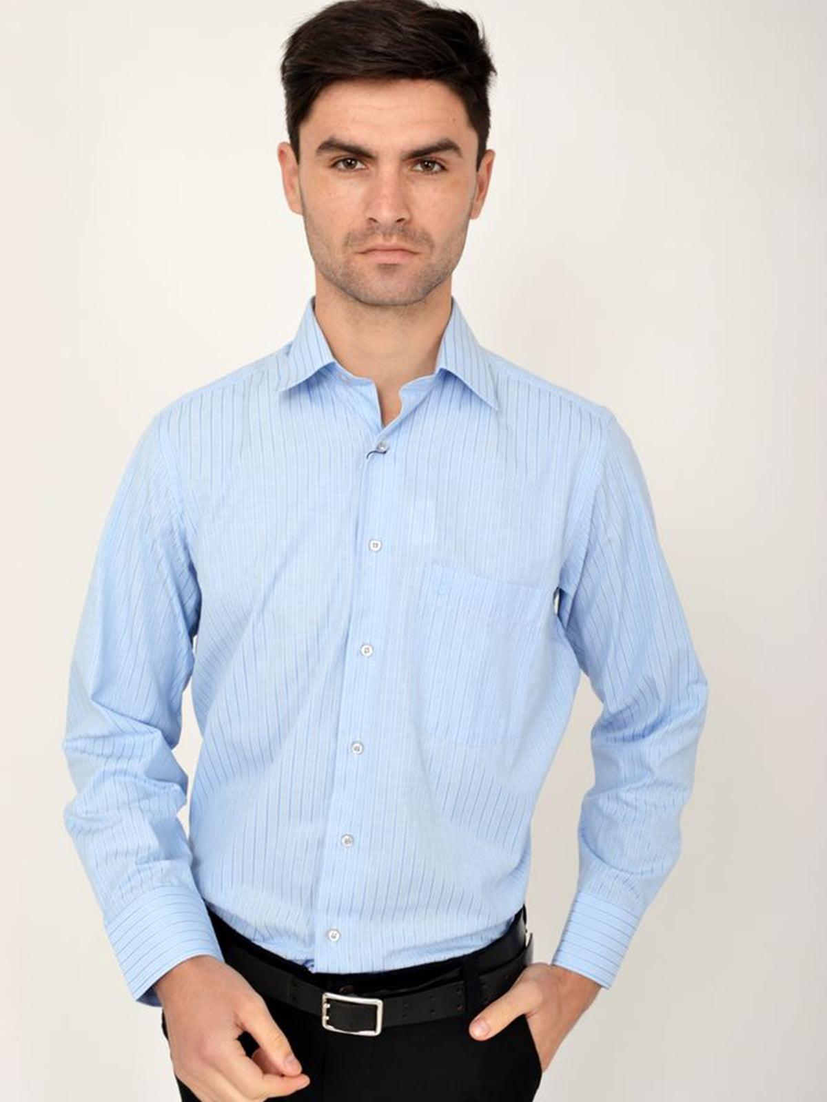 Рубашка голубая | 5306339