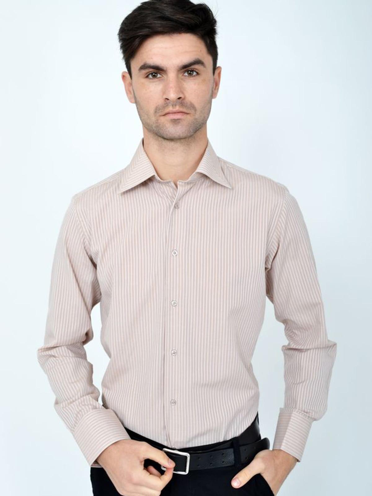 Рубашка кремового цвета | 5306383