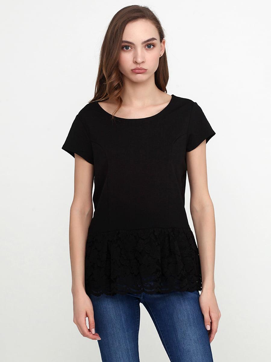Блуза черная | 5308671
