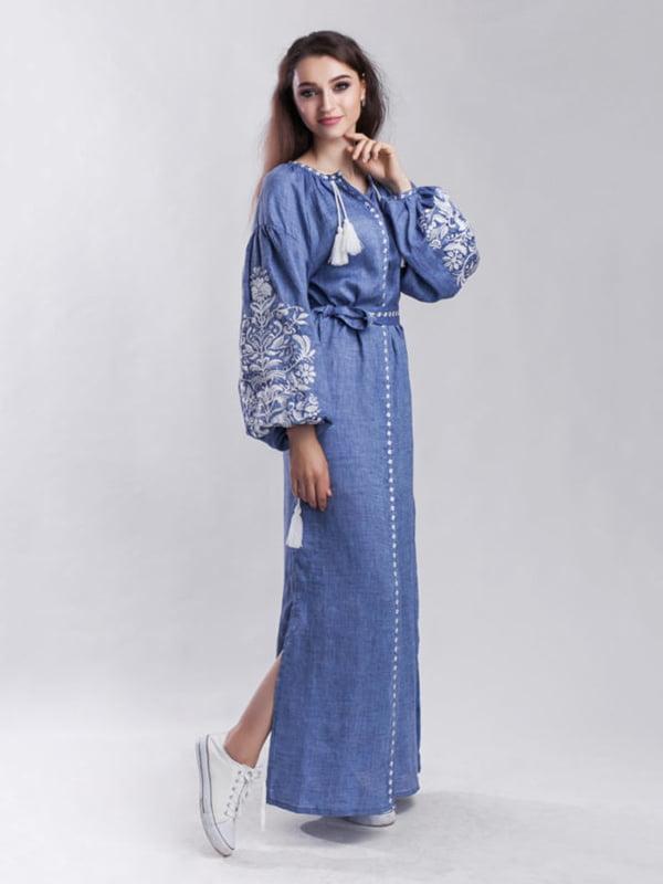 Платье синее | 5305724