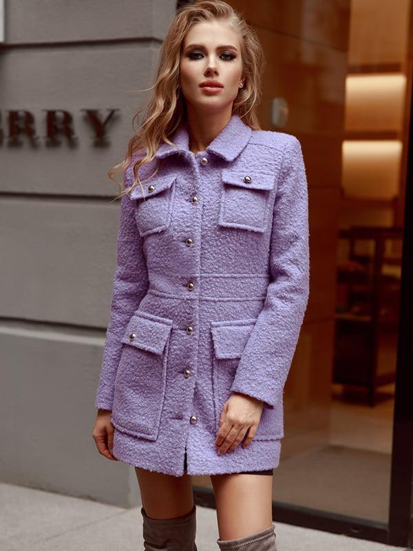 Пальто фиолетовое | 5143498
