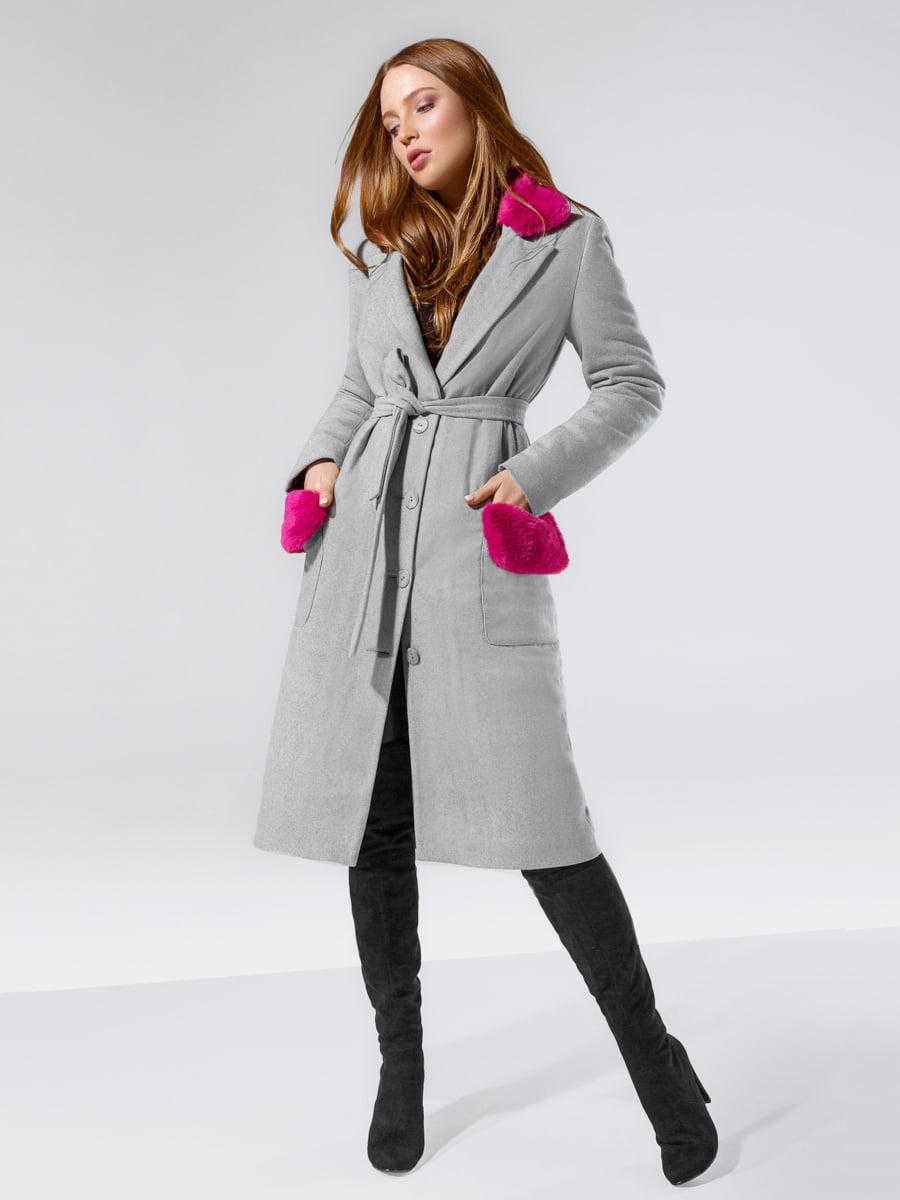 Пальто серое | 5143518
