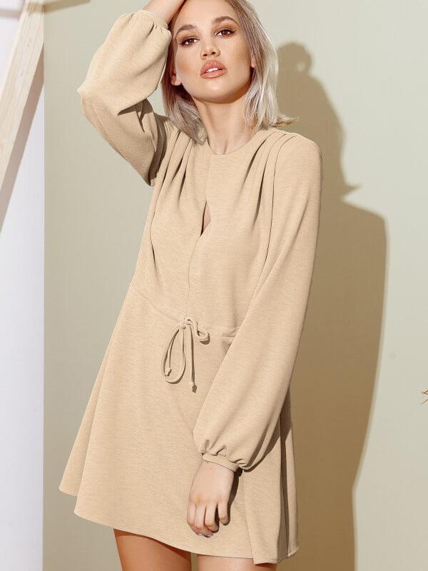 Платье бежевое | 5281722