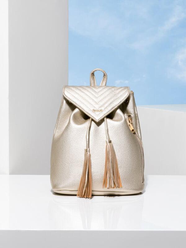 Рюкзак золотистый | 5281746