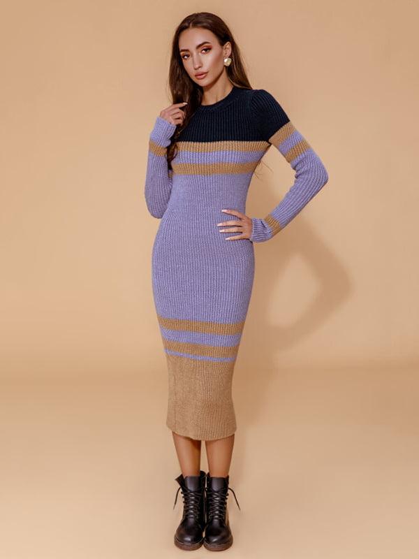 Платье синее | 5281832