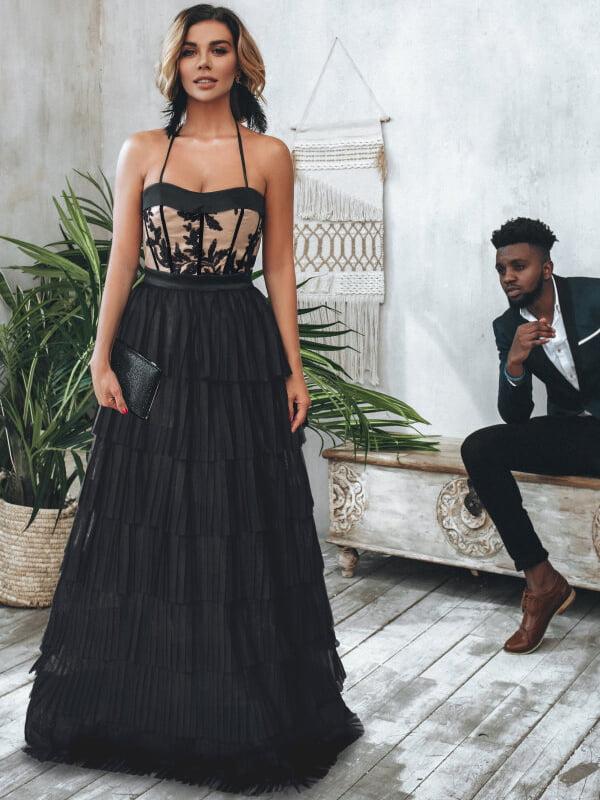 Платье черное | 5291071