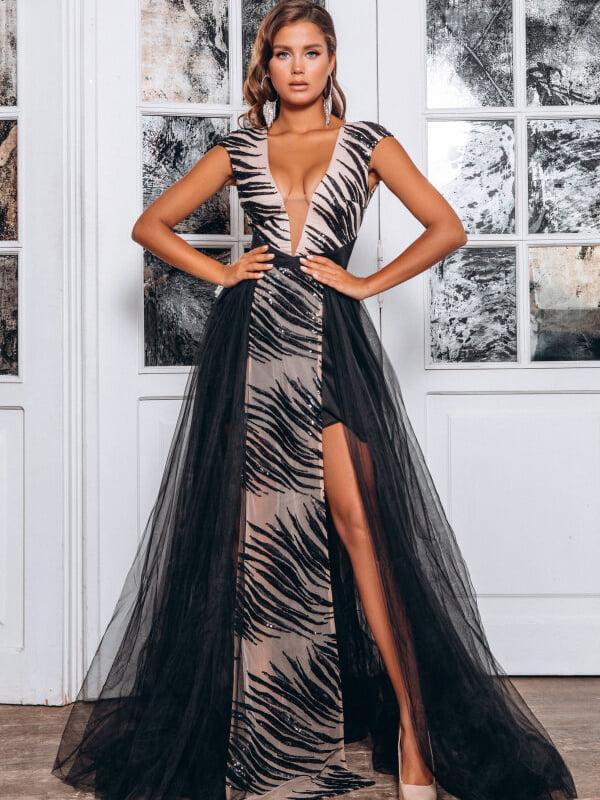 Платье черное | 5294640