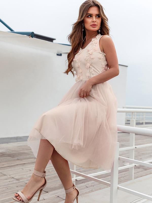 Платье бежевое | 5311308