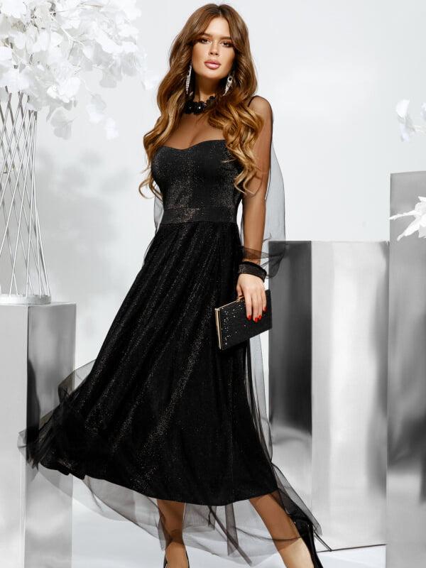 Платье черное | 5311380