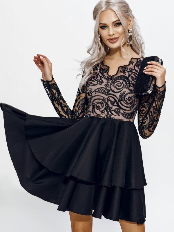 Платье черное | 5311383