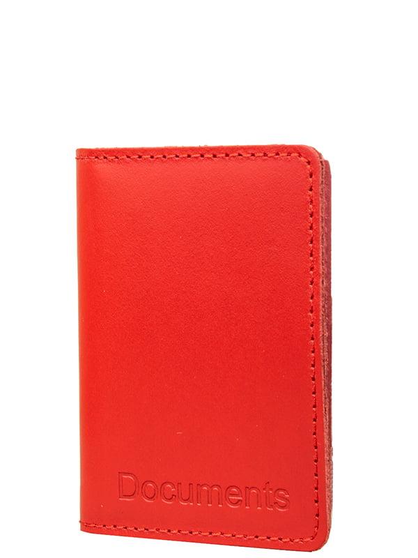 Обкладинка для документів червона | 5313043