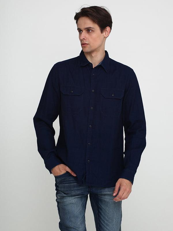 Рубашка синяя | 5316243