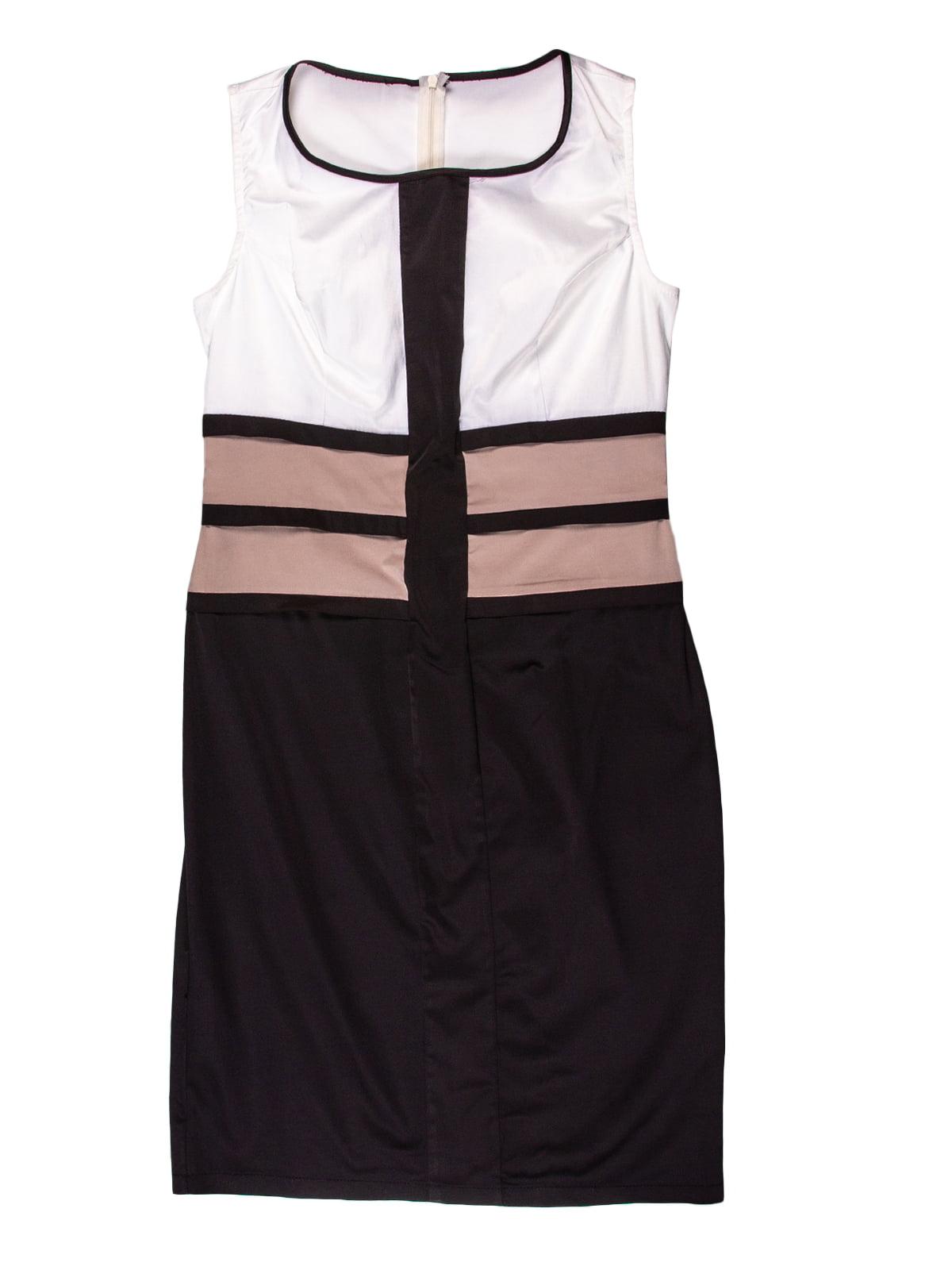 Сукня чорно-біла | 5315312
