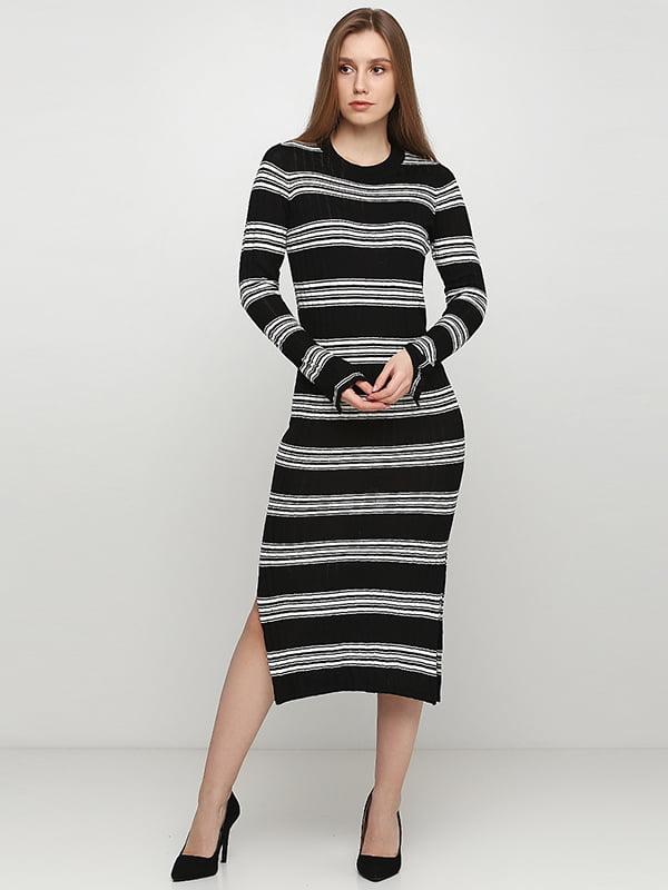 Сукня чорно-біла | 5317369