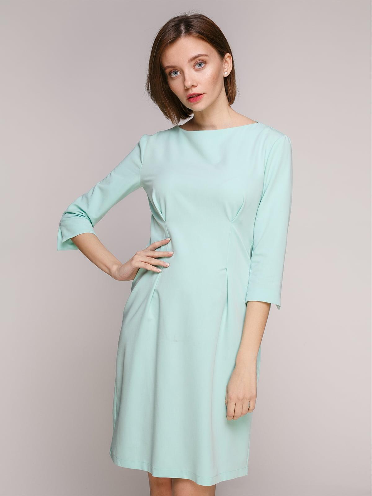 Сукня ментолового кольору | 5246321