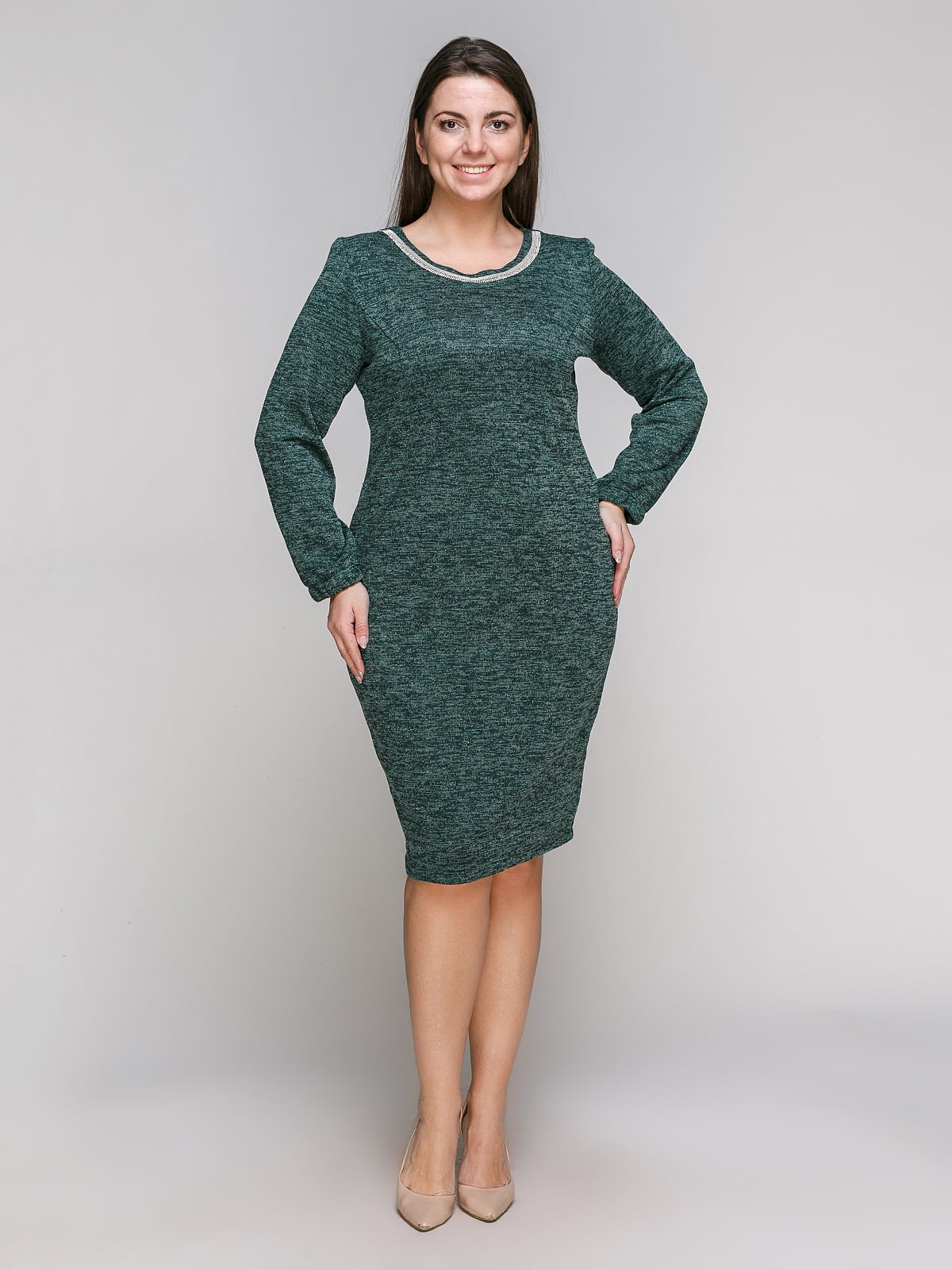 Платье зеленое | 5308832
