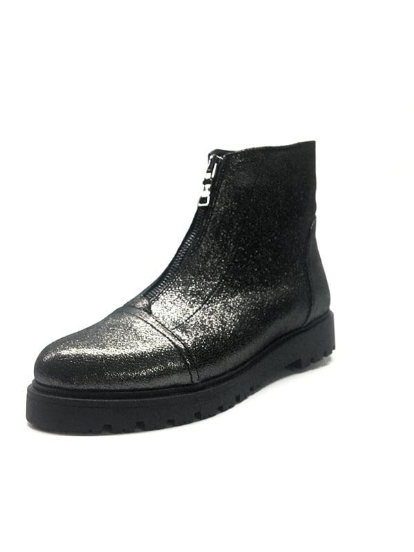 Ботинки серебристые   5319120