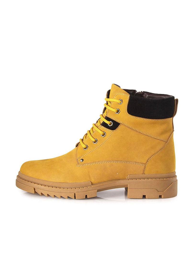Ботинки желтые | 5319184