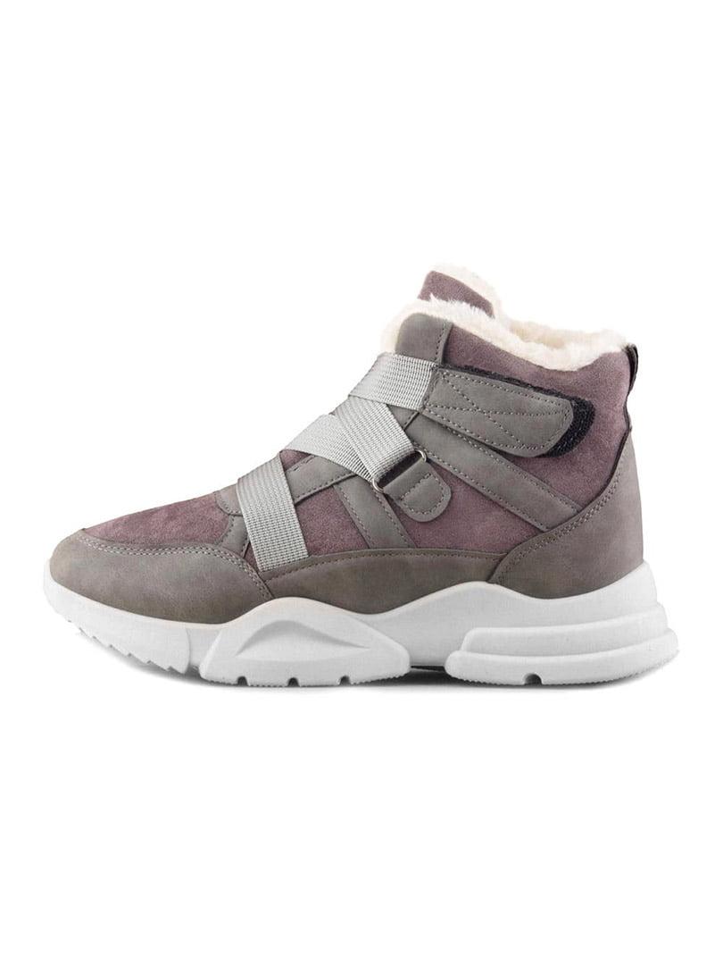 Ботинки серые | 5319238