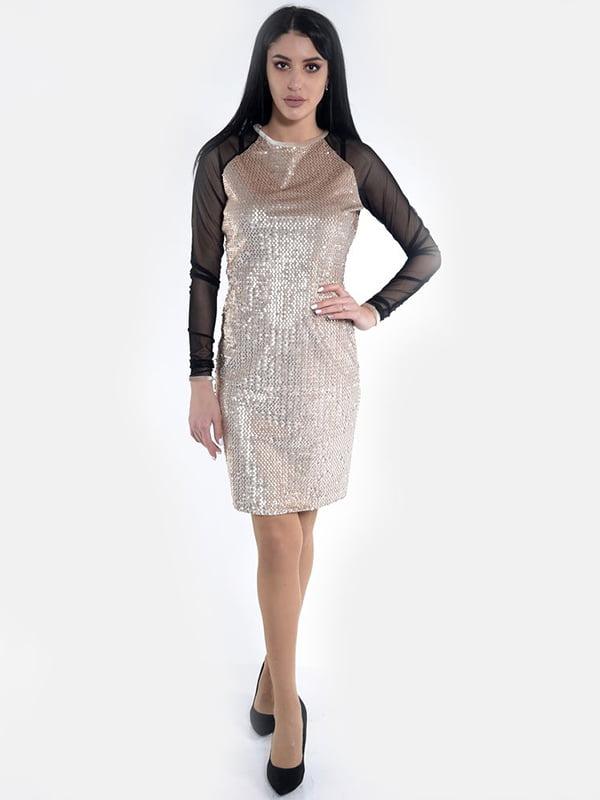 Платье бежевое | 5322325