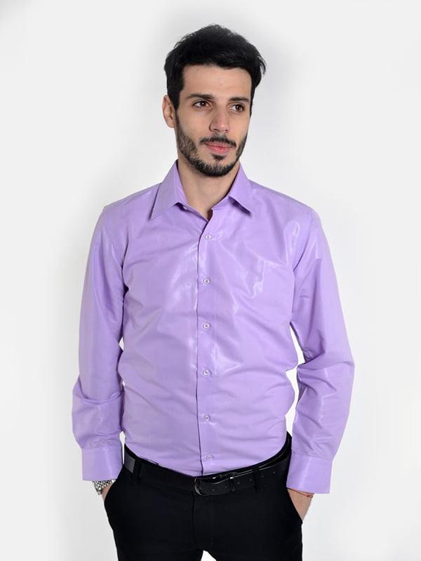 Рубашка сиреневая | 5322448