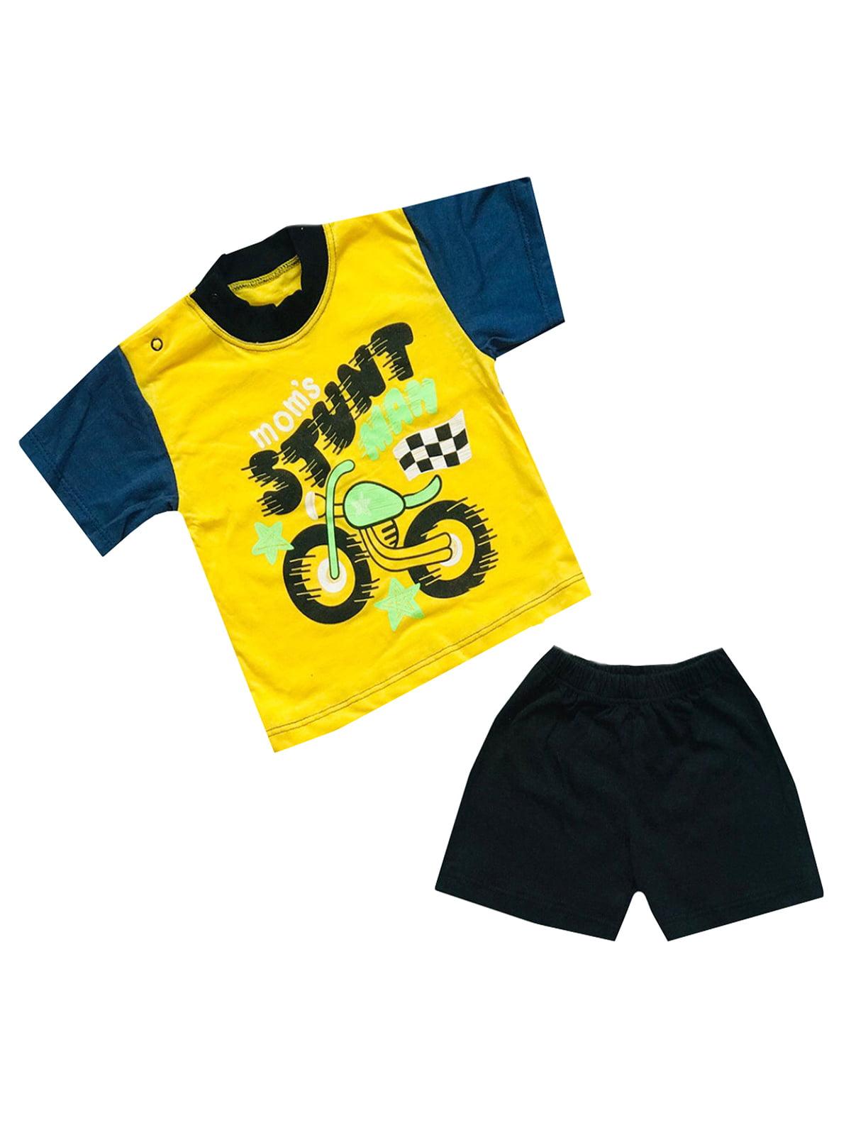 Комплект: футболка и шорты | 5319577