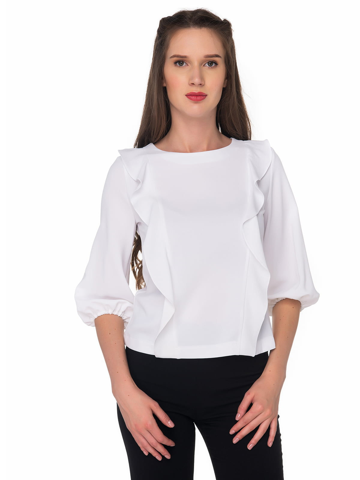 Блуза белая   5324729