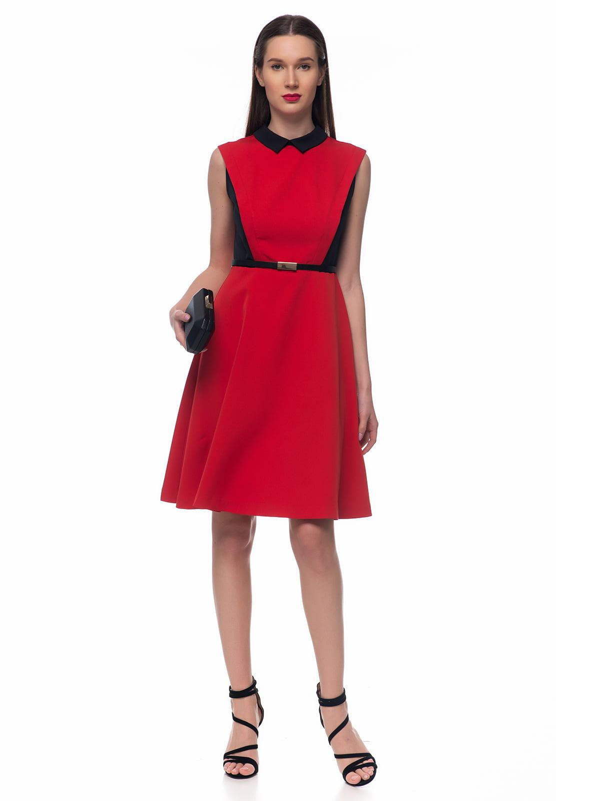 Сукня червоно-чорна   5324740