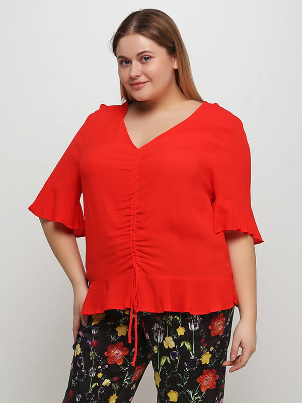 Блуза червона | 5324775