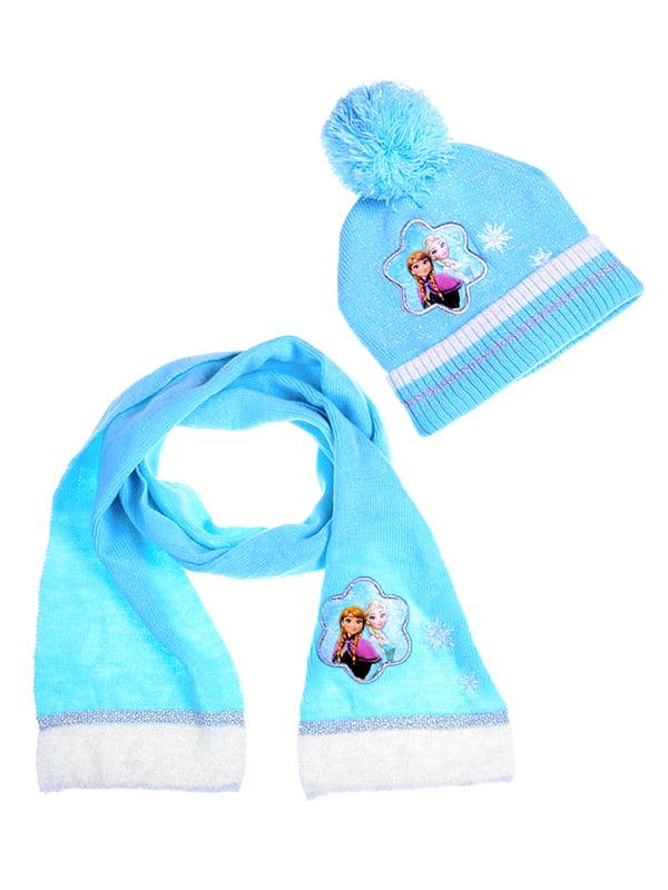 Комплект: шапка и шарф | 5325879