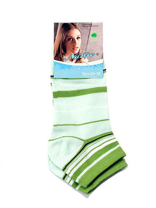 Шкарпетки салатові | 5325985