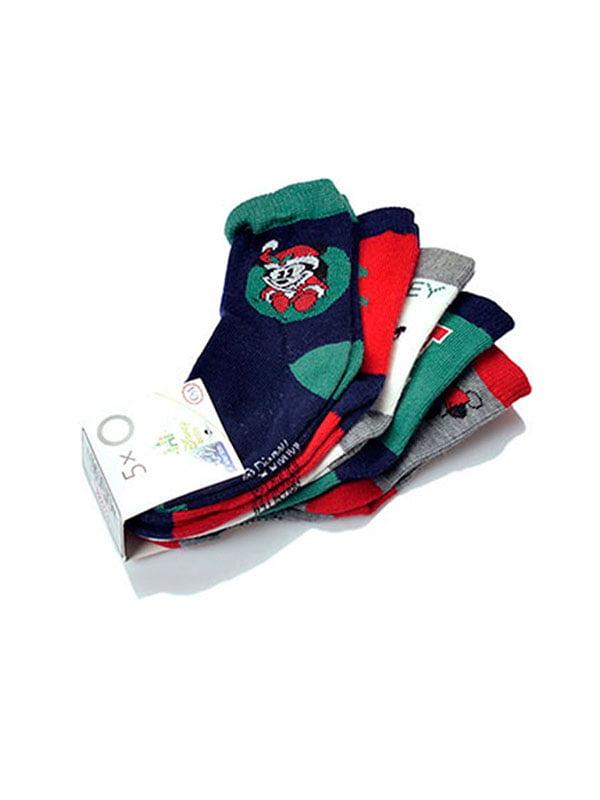 Набір шкарпеток (5 пар) | 5326026