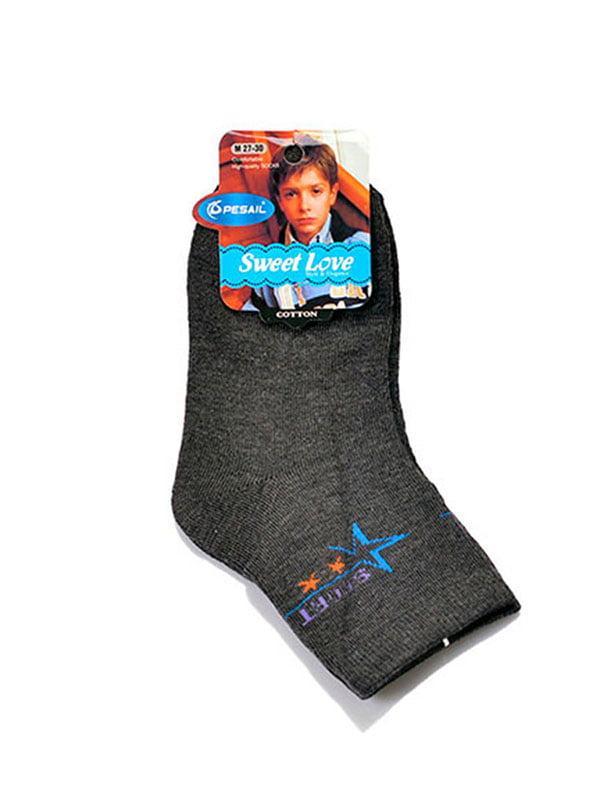 Шкарпетки сірі | 5326056