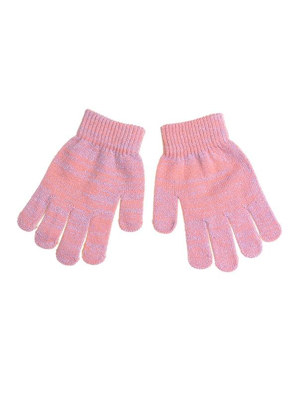 Перчатки розовые | 5326232